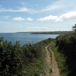 Lovely Coastal Path walk to nearby Maenporth
